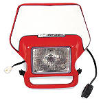 Baja Designs Enduro Lighting Kit Option 1 - Dirt Bike Headlight Assemblies
