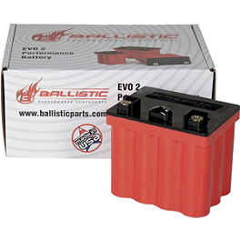 Ballistic EVO2 Battery - BikeMaster TruGel Battery
