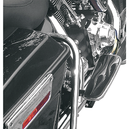 Baron Custom Accessories Adjustable Passenger Enferno Shortboards - 2001 Harley Davidson Road Glide - FLTRI Baron Custom Accessories Big Air Kit Cover - Chrome V-125C.I.