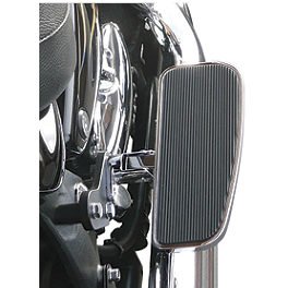 Baron Adjustable Passenger Solid Shortboards - 2007 Kawasaki Vulcan 900 Classic LT - VN900D Baron Custom Accessories Big Air Kit Cover - Chrome V-125C.I.
