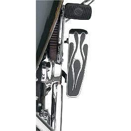 Baron Custom Accessories Adjustable Rider Enferno Longboards - 2000 Harley Davidson Heritage Softail Classic - FLSTC Baron Custom Accessories Big Air Kit Cover - Chrome V-125C.I.