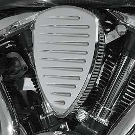 Baron Big Air Kit - Chrome Comet - 2008 Suzuki Boulevard C50 - VL800B Baron Bullet Ends For ISO Grips