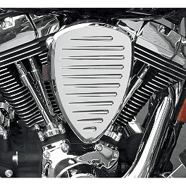 Baron Custom Accessories Big Air Kit - Chrome Comet - 1998 Harley Davidson Softail Custom - FXSTC Baron Custom Accessories Big Air Kit Cover - Chrome V-125C.I.