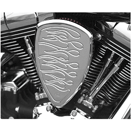 Baron Big Air Kit - Chrome Flame - 2008 Yamaha V Star 650 Silverado - XVS65AT Kuryakyn Hypercharger Kit