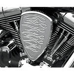 Baron Custom Accessories Big Air Kit - Chrome Flame - Cruiser Air Filters, Cleaners & Fuel Filters
