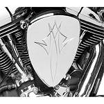 Baron Big Air Kit - Chrome Pinstripe - Cruiser Air Cleaner Kits