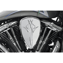 Baron Custom Accessories Big Air Kit - Chrome Pinstripe - 2011 Harley Davidson Street Glide - FLHX Baron Custom Accessories Big Air Kit Cover - Chrome V-125C.I.