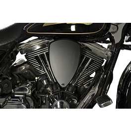 Baron Custom Accessories Big Air Kit - Black Smooth - 2011 Harley Davidson Street Glide - FLHX Baron Custom Accessories Big Air Kit Cover - Chrome V-125C.I.