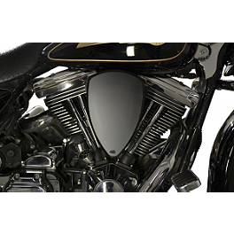 Baron Custom Accessories Big Air Kit - Black Smooth - 1998 Harley Davidson Fat Boy - FLSTF Baron Custom Accessories Big Air Kit Cover - Chrome V-125C.I.