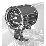 "Baron Bullet Tachometer With 1.25"" Clamp -  Cruiser Dash and Gauges"