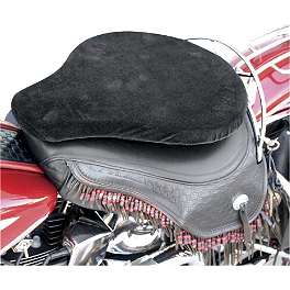 Baron Custom Accessories Cushion Comfort Pad - 2001 Yamaha V Star 1100 Custom - XVS1100 Baron Bullet Ends For ISO Grips