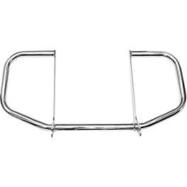 Baron Full Size Engine Guards - 2003 Honda Rebel 250 - CMX250C Cobra Freeway Bars - Chrome