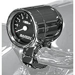 "Baron 3"" Bullet Tachometer 1.5"" Bars - Baron Custom Accessories Cruiser Dash and Gauges"
