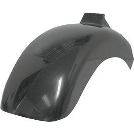 Baron Phat Bob'd Rear Fender - 2006 Yamaha Road Star 1700 Midnight Silverado - XV17ATM Baron Bullet Ends For ISO Grips