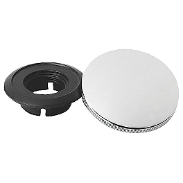Baron Profiler Gas Cap Kit - 2000 Yamaha Road Star 1600 - XV1600A Baron Custom Accessories Big Air Kit Cover - Chrome V-125C.I.
