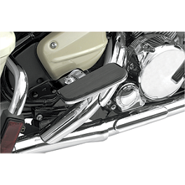 Baron Sport Boards - 2006 Honda VTX1800C2 Cobra Passenger Floorboards - Chrome