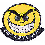 Baron Custom Accessories Ride-A-Nice-Day Patch - Baron Custom Accessories Dirt Bike Riding Jackets