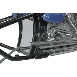 Baron Splash Guard - Yamaha - LA Choppers Stackedd Exhaust System