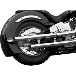 Baron Slasher Pipes - 2004 Yamaha V Star 1100 Classic - XVS11A Baron Ultimate Light Bar