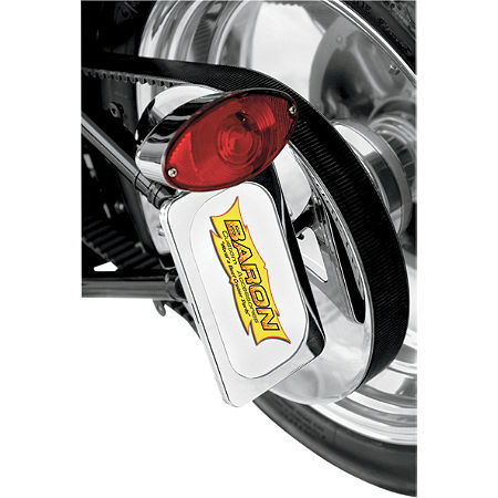 Baron Side Mount License With Brake Light - Main