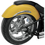 Baron Two-Bob'd Rear Fender - Baron Custom Accessories Cruiser Products