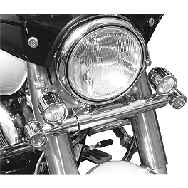 Baron Ultimate Light Bar - 2003 Yamaha Road Star 1600 Midnight - XV1600AS Baron Bullet Ends For ISO Grips