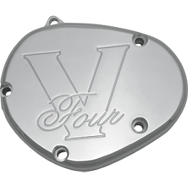 Baron Water Pump Cover - 2007 Yamaha Royal Star 1300 Venture - XVZ13TF Baron Bullet Ends For ISO Grips