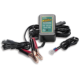 Battery Tender Jr. Battery Charger - 12 Volt - 2008 Suzuki RMZ250 Acerbis Spider Evolution Disc Cover With Mount Kit