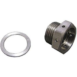Bazzaz AF Sensor Bung Plug - Stainless Steel - Bazzaz Shift Rod - Female