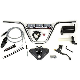 BBR XR50 Handlebar Kit - Black - 2009 Honda CRF50F BBR XR50 Skid Plate Black