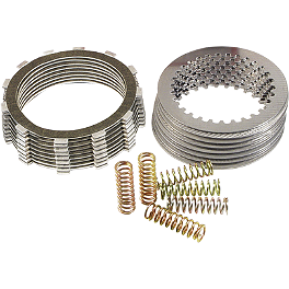 Barnett Clutch Kit - 2004 Honda CRF450R EBC Dirt Racer Clutch Kit