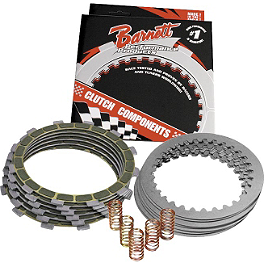 Barnett Clutch Kit - Barnett Clutch Kit With Carbon Fiber Friction Plates
