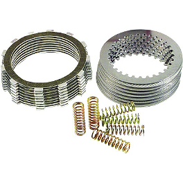 Barnett Clutch Kit - 2002 Kawasaki KX125 EBC Dirt Racer Clutch Kit