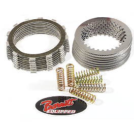Barnett Clutch Kit With Carbon Fiber Friction Plates - 2008 Suzuki RMZ250 Wiseco Clutch Pack Kit