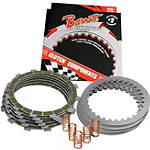 Barnett Clutch Kit With Carbon Fiber Friction Plates - Dirt Bike Clutches, Clutch Kits and Components