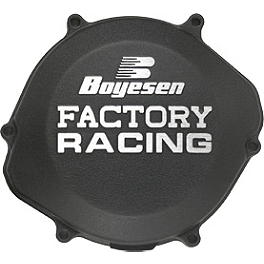 Boyesen Clutch Cover - Black - 2009 Suzuki RMZ450 Boyesen Supercooler Water Pump Kit