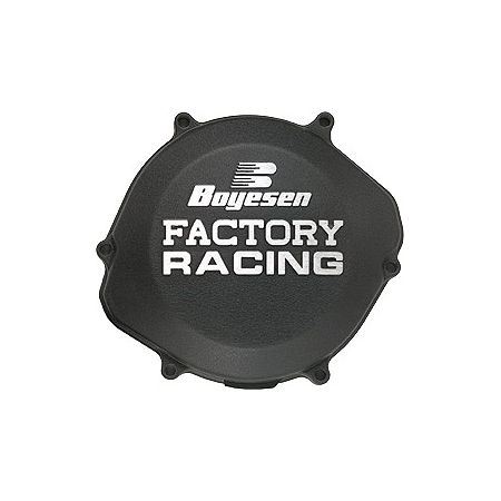 Boyesen Clutch Cover - Black - Main