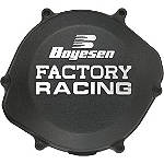 Boyesen Clutch Cover - Black - Boyesen Dirt Bike Engine Parts and Accessories