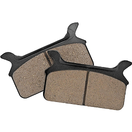 Biker's Choice Twin Power Organic Brake Pads - Rear - 2012 Harley Davidson Sportster Forty-Eight - XL1200X EBC V-Series Brake Pads - Rear