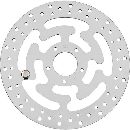 Biker's Choice OEM Style Mirror Polished Brake Rotor - Rear - Main