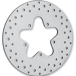 Biker's Choice Standard Brake Rotor - Rear - Biker's Choice Stainless Steel Mirror Rotor - Front