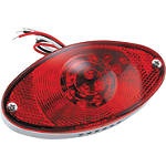 Biker's Choice Cateye LED Tail Light - Biker's Choice Cruiser Lighting