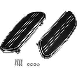 Biker's Choice Driver Floorboards - Show Chrome Passenger Floorboard Risers