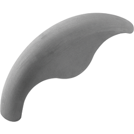 Biker's Choice Mako Front Fender - Biker's Choice Dash Panel - Chrome