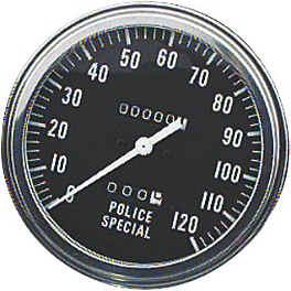 "Biker's Choice 5"" FL Type Speedometer - Police Special - Biker's Choice Dash Panel - Low Rider"