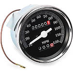 Biker's Choice Replacement Speedometer - Harley Davidson Dirt Bike Dash and Gauges