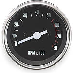 Biker's Choice Replacement Tachometer -  Cruiser Dash and Gauges