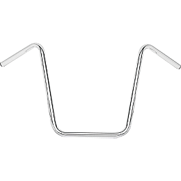 "Biker's Choice Triple Chrome 1"" Handlebar - Hi-Bar - Biker's Choice Heavy-Duty Inner Tube - 130/80-17"