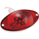Biker's Choice Replacement Lens For Cateye Tail Light -  Cruiser Lights & Lighting