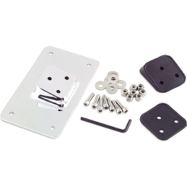 Biker's Choice Custom License Plate Bracket - Biker's Choice Foot Brake Pedal